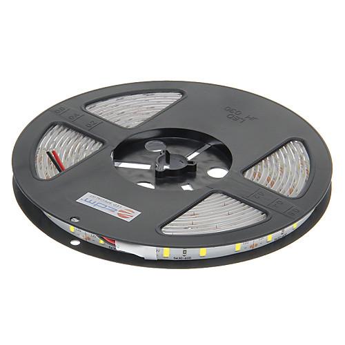 Водонепроницаемая светодиодная лента, холодный белый свет, 5M, 120W 300x5630 SMD (DC 12V) <br>