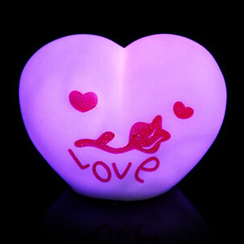 Любовь Rotocast Цвет меняющейся ночник