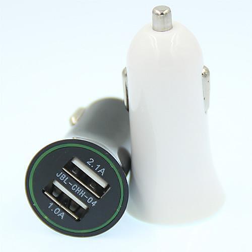 Автомобильное зарядное устройство Зарядное устройство USB Несколько портов 2 USB порта 2.1 A / 1 A DC 12V-24V сетевое зарядное устройство apple usb мощностью 5 вт md813zm a