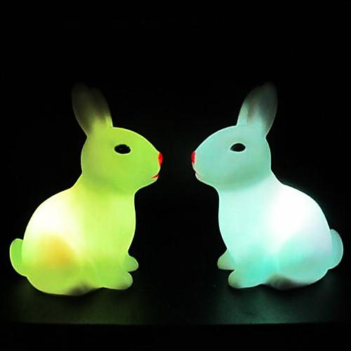 Кролик Rotocast Цвет меняющейся ночник