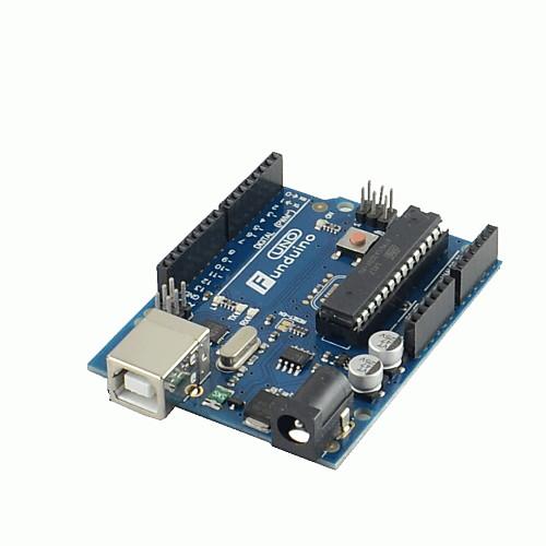 Плата, новая версия с USB кабелем, Arduino UNO  R3 2012  730.000