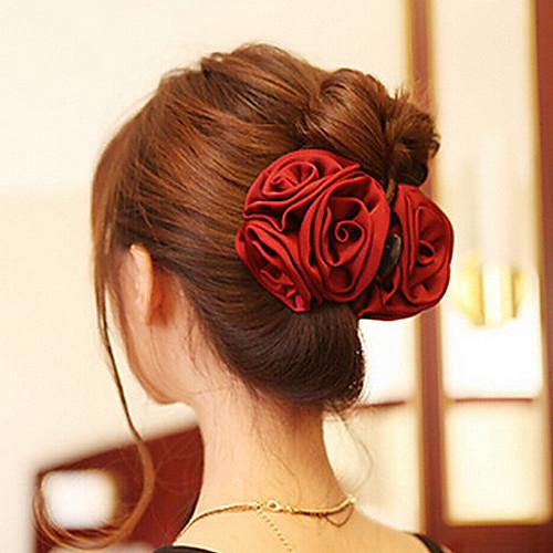 Жен. Elegant коготь волос - Цветы Акрил Ткань наборы аксессуаров для волос esli комплект аксессуаров для волос lovely floral