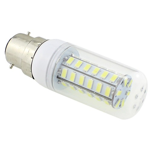 3 W LED Corn Lights 5500-6500 lm B22 T 48 LED Beads SMD 5730 Cold White 220-240 V / # / CE / RoHS