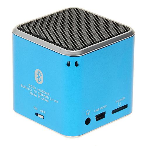 На открытом воздухе Мини Портативные С поддержкой карт памяти Bult микрофон Bluetooth 2.1 3.5 мм AUX Беспроводные колонки Bluetooth от MiniInTheBox.com INT