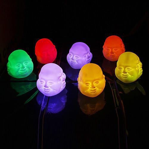 Coway красочные выражения китайский буддизм Будда Майтрея привело ночник