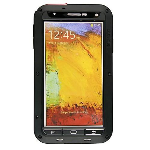 Купить со скидкой Lovemei Кейс для Назначение SSamsung Galaxy Samsung Galaxy Note Водонепроницаемый / Защита от удара