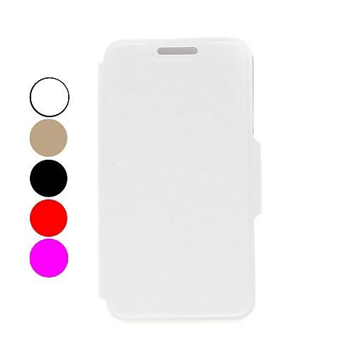 Kinston радуга серия шелк шаблон PU кожаный полный случай тела с подставкой для Huawei p6 (разные цвета)