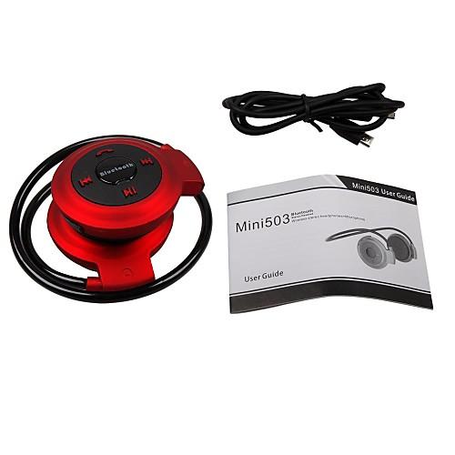 Спортивные мини наушники с микрофоном, блютус 2.1, для iPhone / Samsung от MiniInTheBox.com INT
