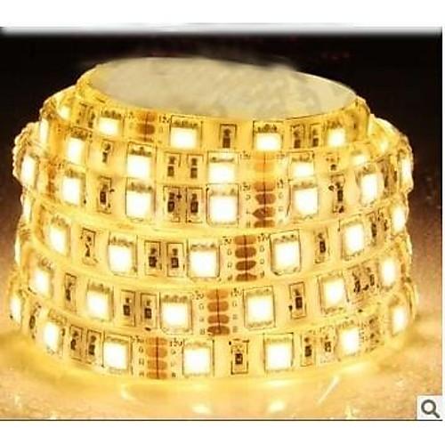 ZDM ™ водонепроницаемая 5м 72W 300  5050 СМД 4800lm теплый белый свет лампы светодиодные полосы (DC12V) от MiniInTheBox INT