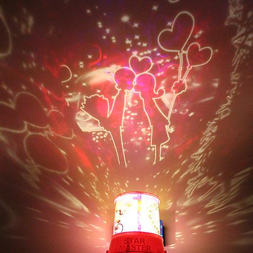 DIY Поцелуй Романтический Galaxy Звездное небо Проектор Night Light для празднования Рождественский фестиваль