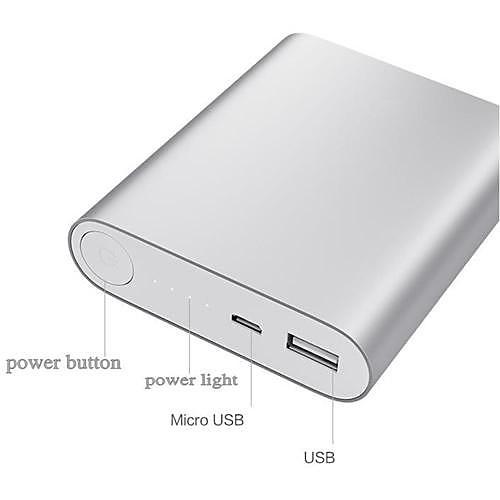 Портативный внешний аккумулятор для мобильных устройств (разные цвета), 10400mAh от MiniInTheBox INT