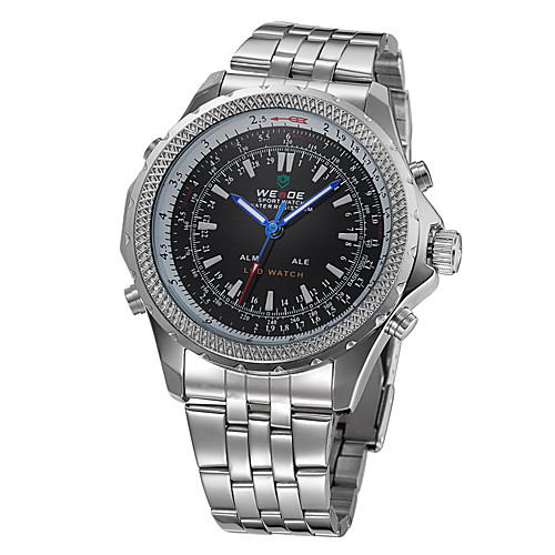 Аналоговые цифровые часы с двумя циферблатами WH-904  773.000