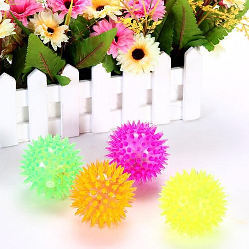 Coway Светодиодные Night Light флэш Отскок Массажный мяч Massage Ball мигающий шар (случайный цвет)