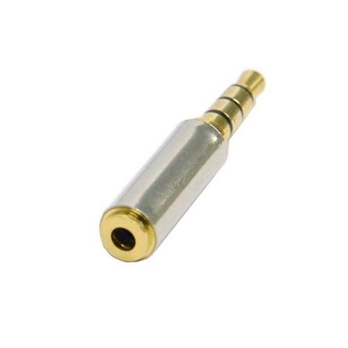 3.5mm Male Plug to 2.5mm Female Stereo Audio Headphone Jack Adapter Converter