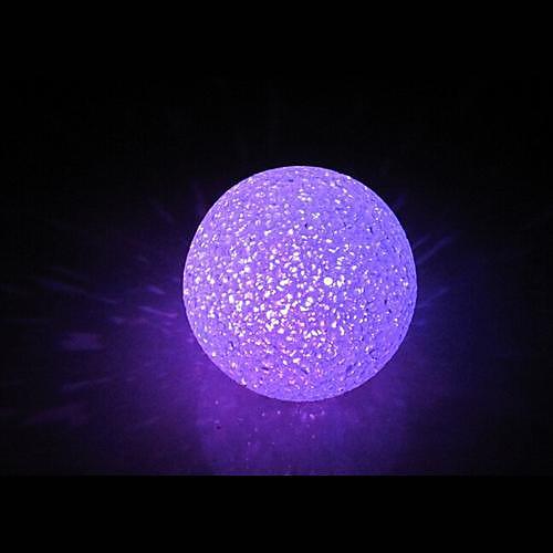 Coway Хрустальный шар Красочные светодиодной Night Light
