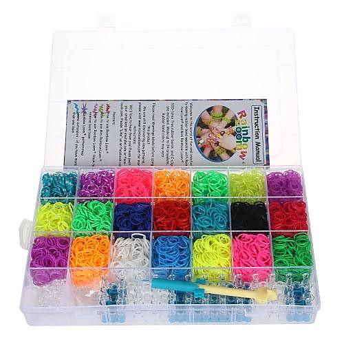 Комплект для плетения браслетов из резинок