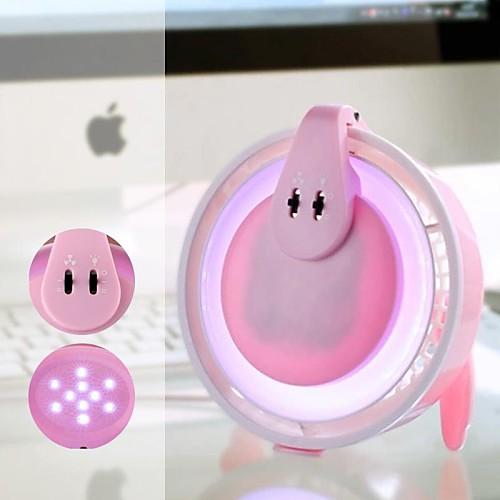 Qidu  Новый Странно Генерация Многофункциональный лампы Mute вентилятора и LED лампа ночник