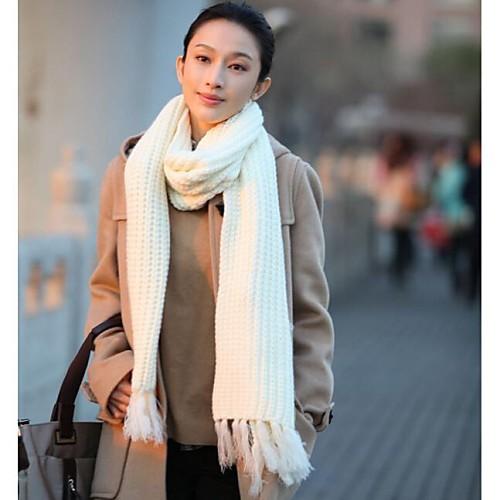 Модные шарфы белые