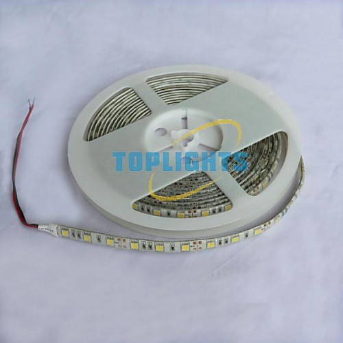 ZDM ™ водонепроницаемая 5м 72W 300  5050 СМД 4800lm теплый белый свет лампы светодиодные полосы (DC12V) от MiniInTheBox.com INT