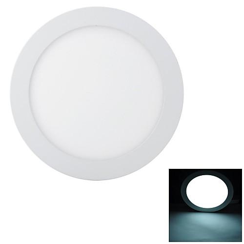 Marsing Супер тонкий 18W 1600lm 6500K 90-SMD 2835 LED холодный белый Потолочный светильник - (85 ~ 240 В)