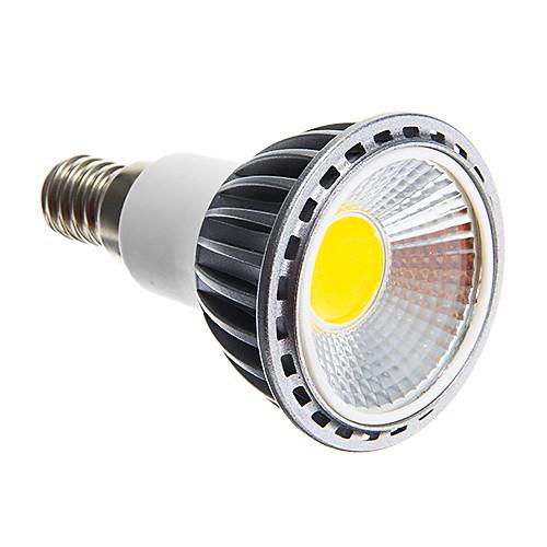 6W 250-300 lm E14 E26/E27 Точечное LED освещение светодиоды COB Диммируемая Тёплый белый Холодный белый AC 220-240V цена