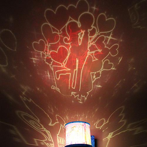 поделки поцелуй романтический галактика звездное небо проектор ночник для празднования Christmas Party
