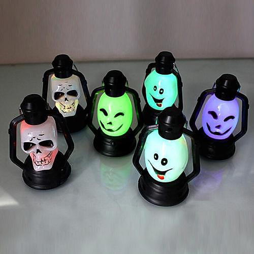 Светильник ночной светодиодный тематический для Хеллоуина (случайный цвет)