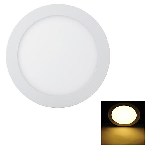 Marsing Супер тонкий 18W 1600lm 3200K 90-SMD 2835 Светодиодные лампы теплый белый Потолочный светильник - (85 ~ 240 В)