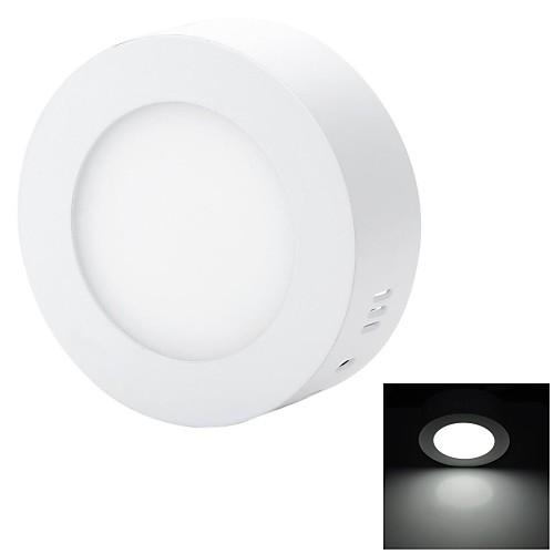 Marsing 6 Вт 600lm 6500K 30-SMD 2835 LED холодный белый Потолочный светильник - белый (85 ~ 240 В)