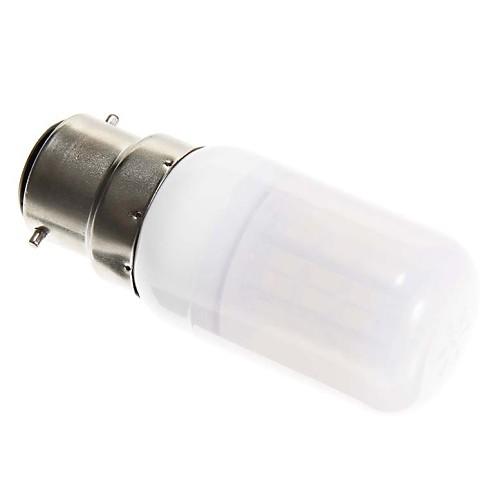 5 Вт. 500 lm B22 LED лампы типа Корн T 42 светодиоды SMD 5730 Тёплый белый AC 100-240 В