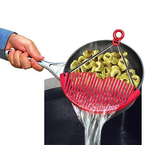 Кухонные принадлежности Нержавеющая сталь пластик Складной / Многофункциональный / Сливной Цедилка Для фруктов / Для овощного / Для Лапша 1шт