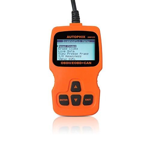 autophix диагностический инструмент OBD OBD2 OBDII EOBD код сканером читатель om123 <br>