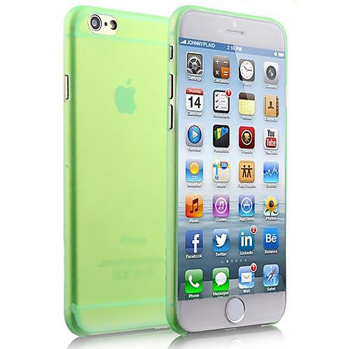 Кейс для Назначение Apple iPhone 8 iPhone 8 Plus iPhone 6 iPhone 6 Plus Other Кейс на заднюю панель Сплошной цвет Мягкий ПК для iPhone 8