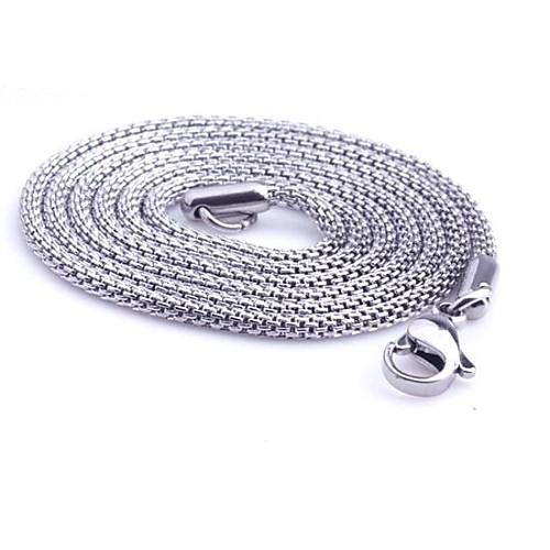Ожерелья-цепочки Бижутерия Змея Титановая сталь Уникальный дизайн Мода По заказу покупателя Бижутерия Назначение Повседневные Новогодние бижутерия в подарок