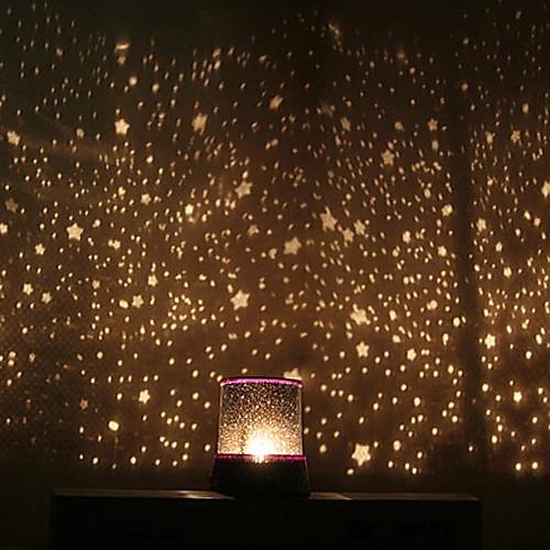 Ночник с светодиодами в виде звездного небо (AC / 3xAA)