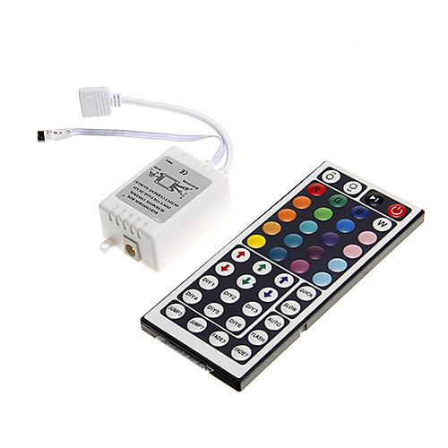 zdm 6a 72w ir 44-клавишный RGB-пульт дистанционного управления для светодиодной полосы rgb led (dc12v)