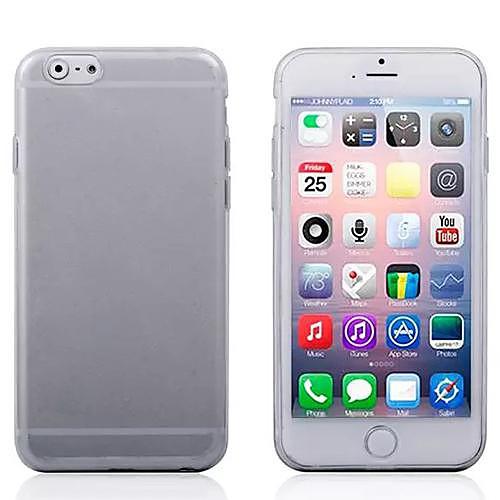 Кейс для Назначение Apple iPhone 6 iPhone 6 Plus Кейс на заднюю панель Сплошной цвет Мягкий ТПУ для iPhone 6s Plus iPhone 6s iPhone 6