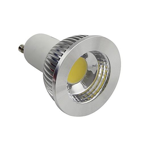 Затемнения GU10 5W COB 450LM 4200K натуральный белый светильник водить пятна света (AC1110-130V)