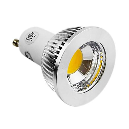 GU10 5W COB 450LM 4200K натуральный белый светильник водить пятна света