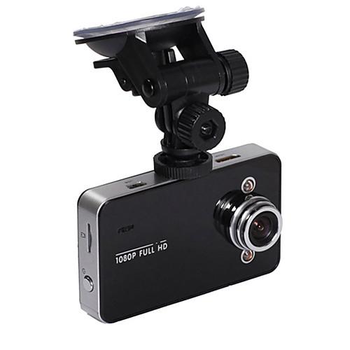 K6000 1080P Full HD Автомобильный видеорегистратор с функцией ночного видения, 140 объектив с 2,7; TFT ЖК-экран G-сенсор