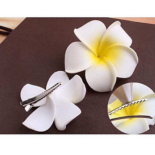 франгипани цветок шпилька среднего размера