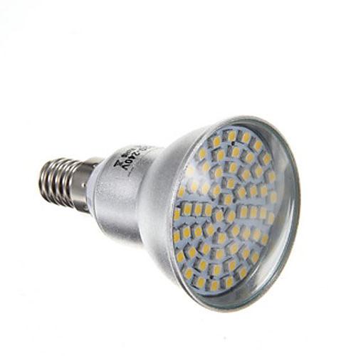 4W 2800lm E14 Точечное LED освещение PAR38 60 Светодиодные бусины SMD 3528 Тёплый белый 220-240V
