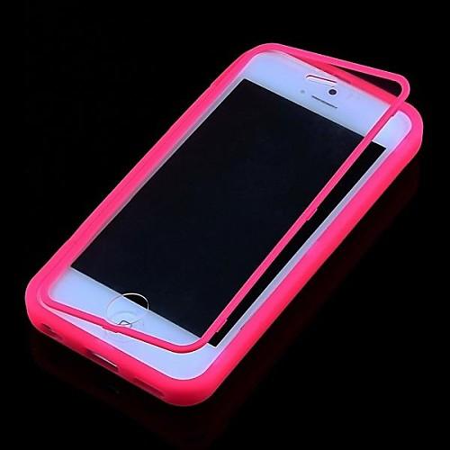 Кейс для Назначение iPhone 5c Apple Чехол Мягкий Силикон для iPhone 5c