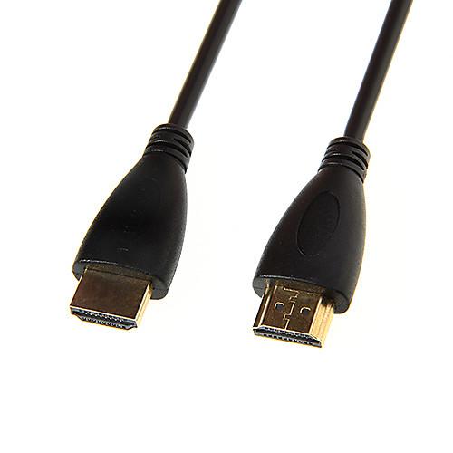 Высокоскоростной кабель HDMI 1.4V длиной 1м 1080p с позолотой  128.000