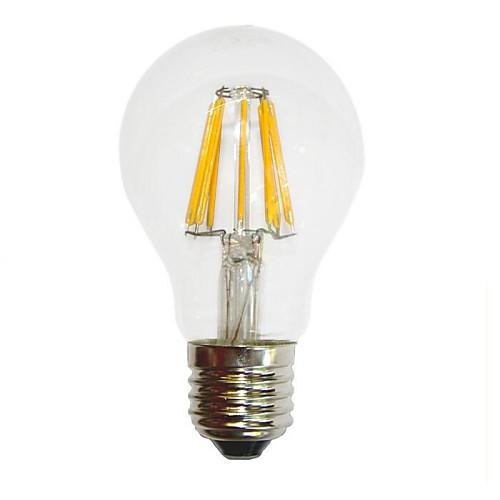 e26 / e27 6w светодиодные лампы накаливания g60 6 cob 450-550 lm теплый белый декоративный AC 220-240 v от MiniInTheBox.com INT
