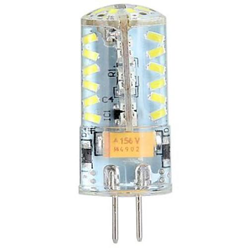 YWXLIGHT 3 Вт. 250 lm G4 Двухштырьковые LED лампы LED лампы типа Корн T 57 светодиоды SMD 3014 Холодный белый DC 24 В AC 24V AC 12V DC