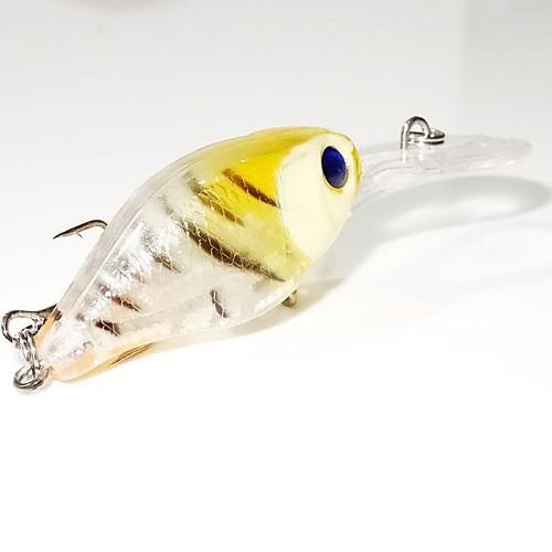 прозрачные воблеры с рыбками