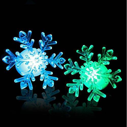 Coway акриловая Рождество снег привел ночник