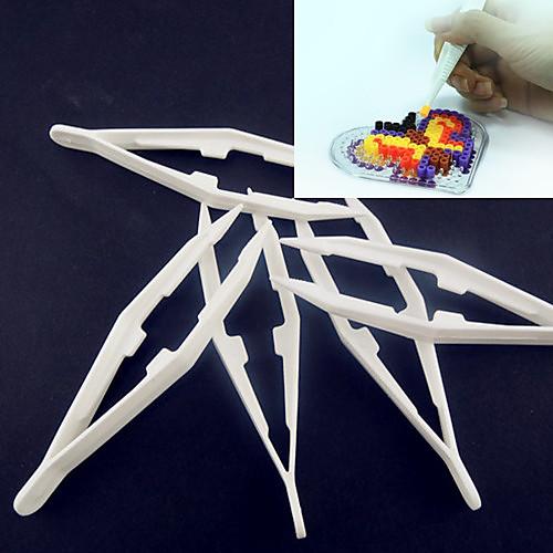 1шт белый пластик пинцет инструмент для предохранителей бусины Hama бисер DIY головоломки Сафти для детей ремесла бижутерия 40 лет влксм