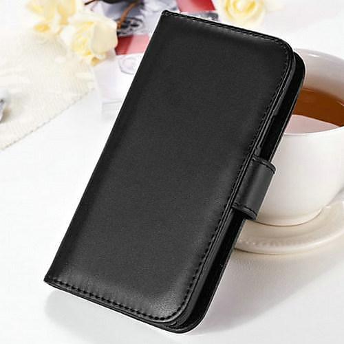 Soft Touch кошелек- чехол из искусственной кожи для Samsung Galaxy i9500 S4 от MiniInTheBox.com INT